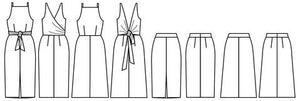 Axis Dress/Skirt - Papercut Patterns - Patterns - Papercut Patterns - Sew Me Sunshine