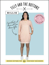 BILLIE Sweatshirt & Dress - Tilly and the Buttons