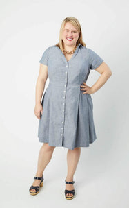 Lenox Shirtdress - Cashmerette - Patterns - Cashmerette - Sew Me Sunshine
