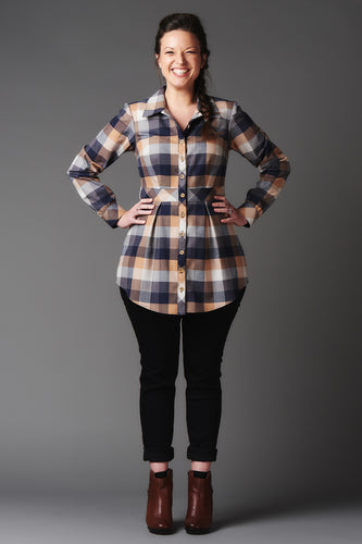 Bruyere Shirt - Deer and Doe - Patterns - Deer and Doe - Sew Me Sunshine