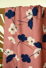 Dusty Pink Poppy - Viscose - Atelier Jupe