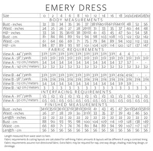 Emery Dress - Christine Haynes - Patterns - Christine Haynes - Sew Me Sunshine