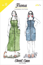 Fiona Sundress - Closet Case Patterns - Patterns - Closet Case Patterns - Sew Me Sunshine