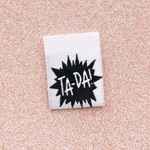 TA-DA - Pack of 8 Clothing Labels - Kylie and the Machine - Haberdashery & Tools - Kylie and the Machine - Sew Me Sunshine