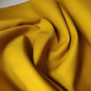 Mustard Yellow Ventana Cotton Twill - Robert Kaufman - Fabric - Robert Kaufman - Sew Me Sunshine