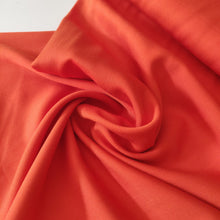 Orange - Modal, Bamboo Viscose & Lyocell Twill - Fabric - Sew Me Sunshine - Sew Me Sunshine