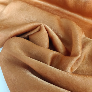 Terracotta - Sandwashed Satin - Fabric - Sew Me Sunshine - Sew Me Sunshine