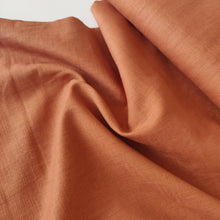Rust - Enzyme Washed Linen