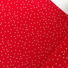 White On Red Polka Dot - Viscose Crepe - Fabric - Sew Me Sunshine - Sew Me Sunshine