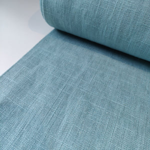 Light Aqua - Enzyme Washed Linen - Fabric - Sew Me Sunshine - Sew Me Sunshine