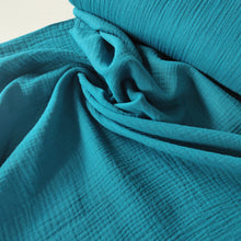 Teal - Cotton Double Gauze