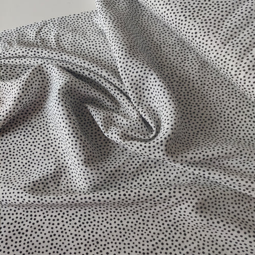 Dotty about Dots - Viscose Challis - Lady McElroy