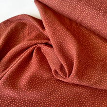 Dotty about Dots Cinnamon - Viscose Challis - Lady McElroy