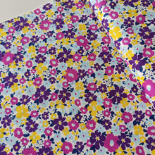 Summer Purple - Cotton - Sevenberry - END OF BOLT 130cm