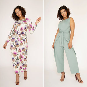 Kielo Wrap Dress and Jumpsuit - Named