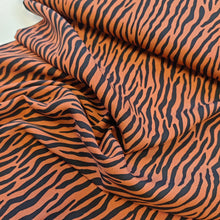 Zebra Rust - Viscose - END OF BOLT 160cm