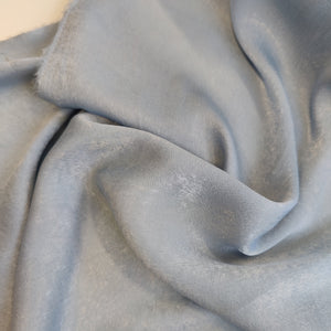 Ice Blue - Sandwashed Satin