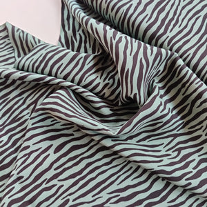 Zebra Green - Viscose