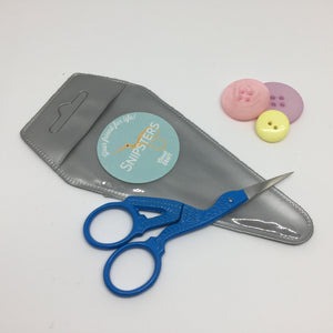 Snipsters Stork Embroidery Scissors - Blue - Haberdashery & Tools - Sew Me Sunshine - Sew Me Sunshine