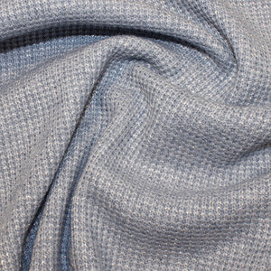 Blue Glitter - Knitted Fabric