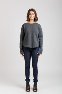 Jarrah Sweater - Megan Nielsen - Patterns - Megan Nielsen - Sew Me Sunshine