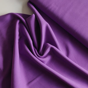Purple - Modal, Bamboo Viscose & Lyocell Twill - Fabric - Sew Me Sunshine - Sew Me Sunshine