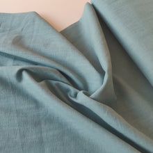 Seafoam Green - Enzyme Washed Linen - Fabric - Sew Me Sunshine - Sew Me Sunshine