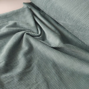 Seafoam Green - Jumbo Cotton Corduroy - Fabric - Sew Me Sunshine - Sew Me Sunshine