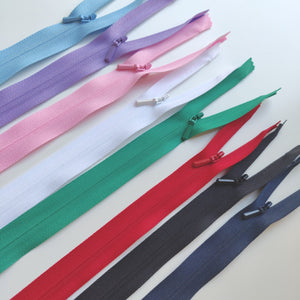 YKK Concealed Invisible Zip 56cm/22inch Variety of Colours - Haberdashery & Tools - YKK - Sew Me Sunshine