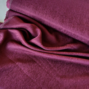 Burgundy - Crepe Blend with Cupro & TENCEL™ fibres - Pigeon Wishes