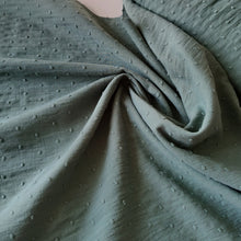 Ivy Green - Cotton Dobby - END OF BOLT 152cm