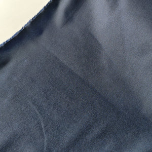 Navy - Waxed Cotton Oilskin Coating