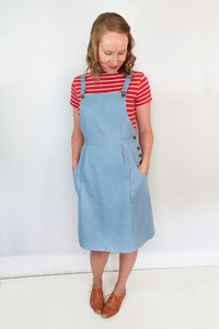 Pippi Pinafore - Jennifer Lauren Handmade - Patterns - Jennifer Lauren Handmade - Sew Me Sunshine