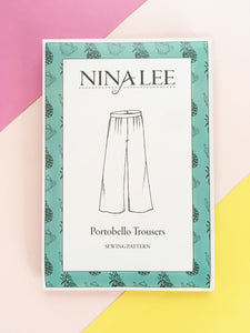 Portobello Trousers - Nina Lee - Patterns - Nina Lee - Sew Me Sunshine