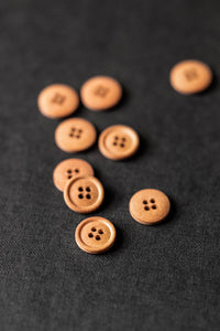 Boston Fall 15mm Cotton Button - Merchant and Mills