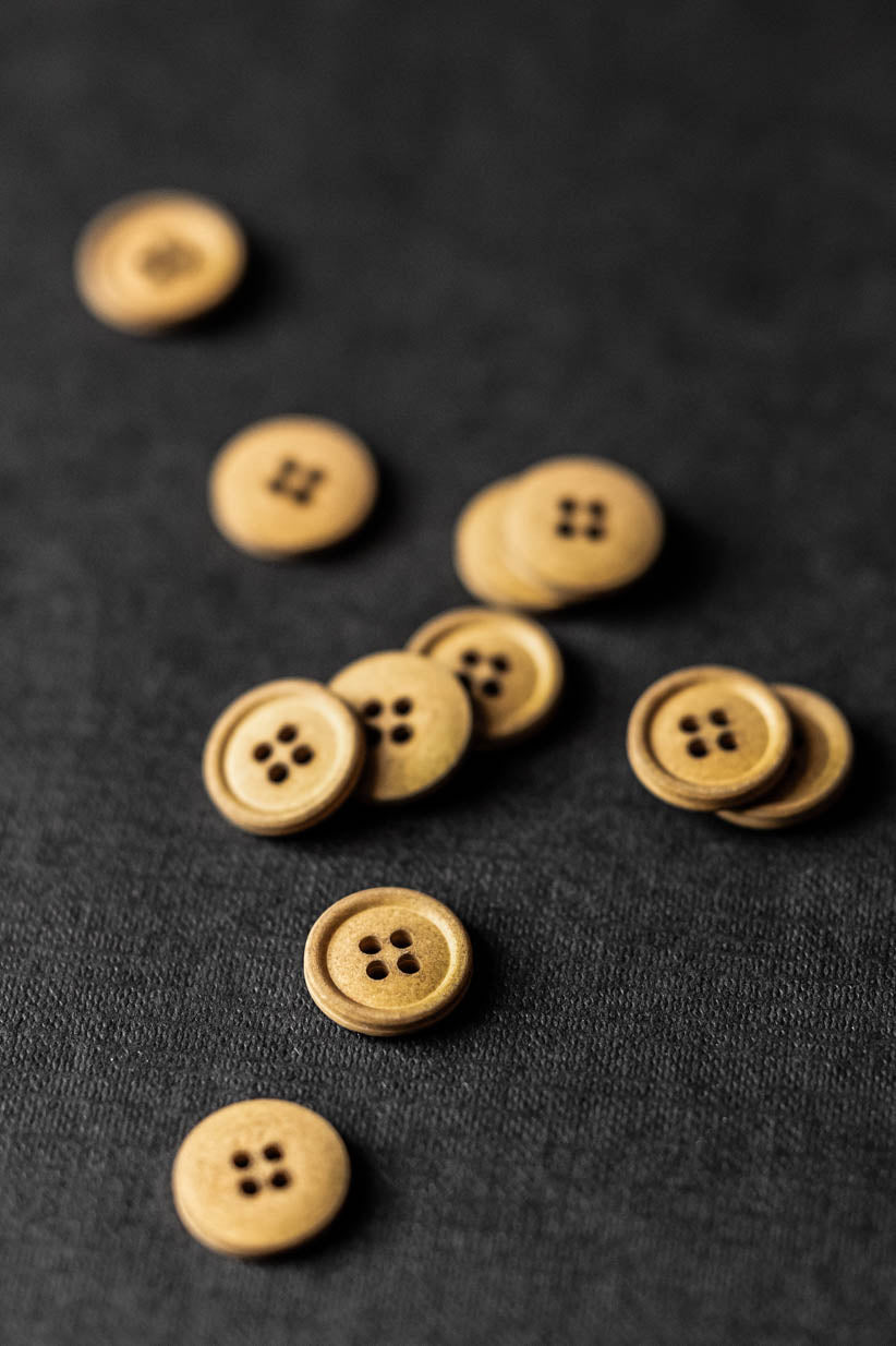 Ginger 15mm Cotton Button - Merchant and Mills