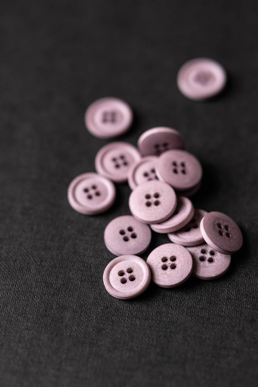 Calamine 15mm Cotton Button - Merchant and Mills