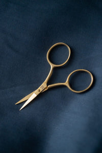 Fine Work Gold Scissors - Merchant and Mills - Haberdashery & Tools - Merchant and Mills - Sew Me Sunshine