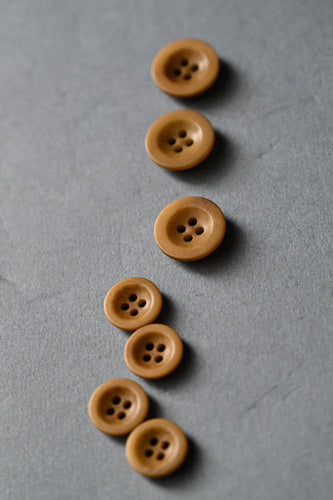 Gold 14mm Corozo Button - Merchant and Mills - Haberdashery & Tools - Merchant and Mills - Sew Me Sunshine