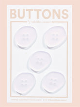 "Rose Quartz Oblong Buttons 21mm (.81"")"