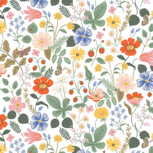 Strawberry Fields Ivory - Cotton - Rifle Paper Co.
