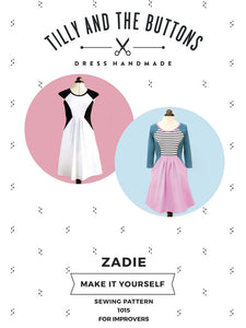 Zadie - Tilly and the Buttons - Patterns - Tilly and the Buttons - Sew Me Sunshine