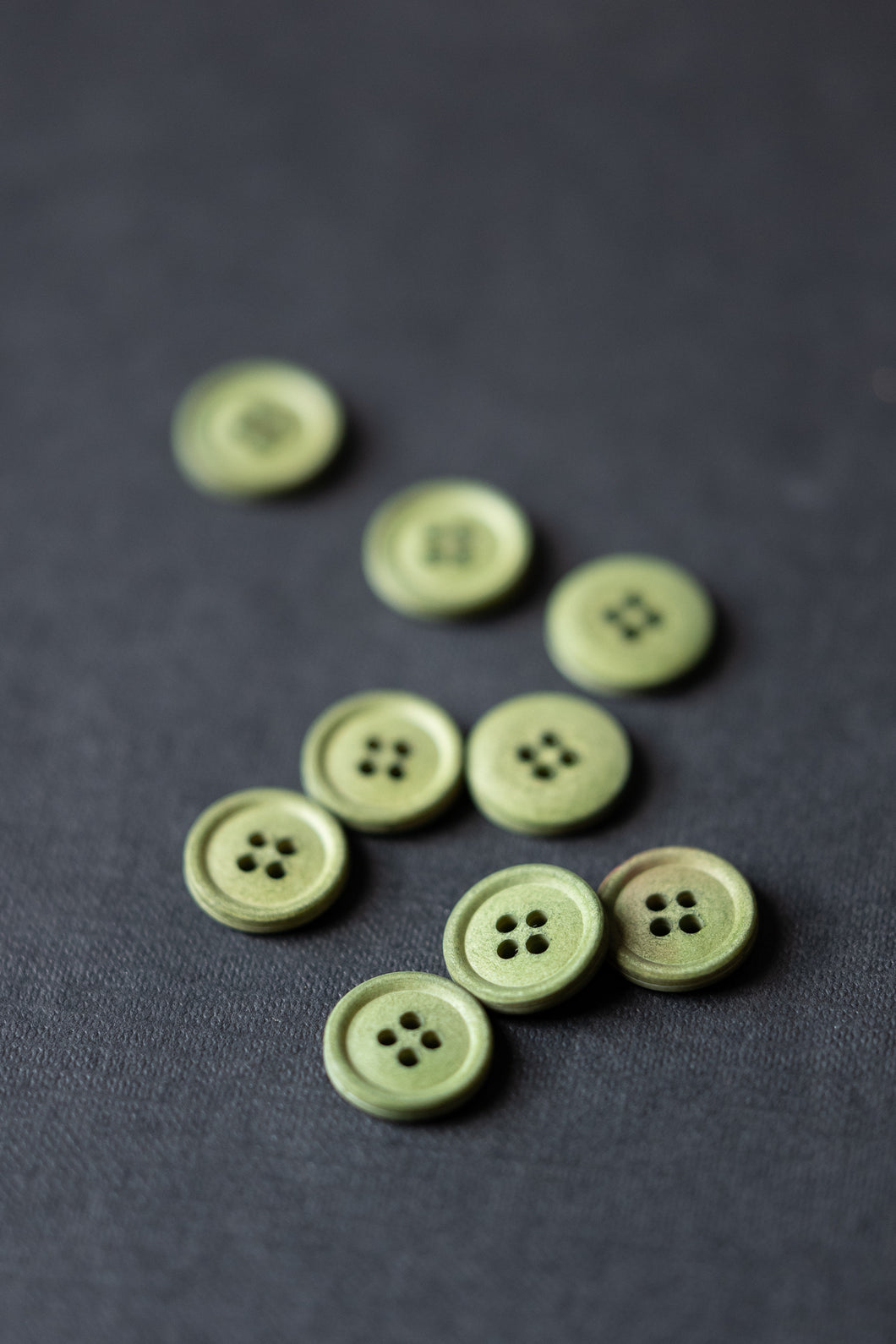 Bowling Green 15mm Cotton Button - Merchant and Mills