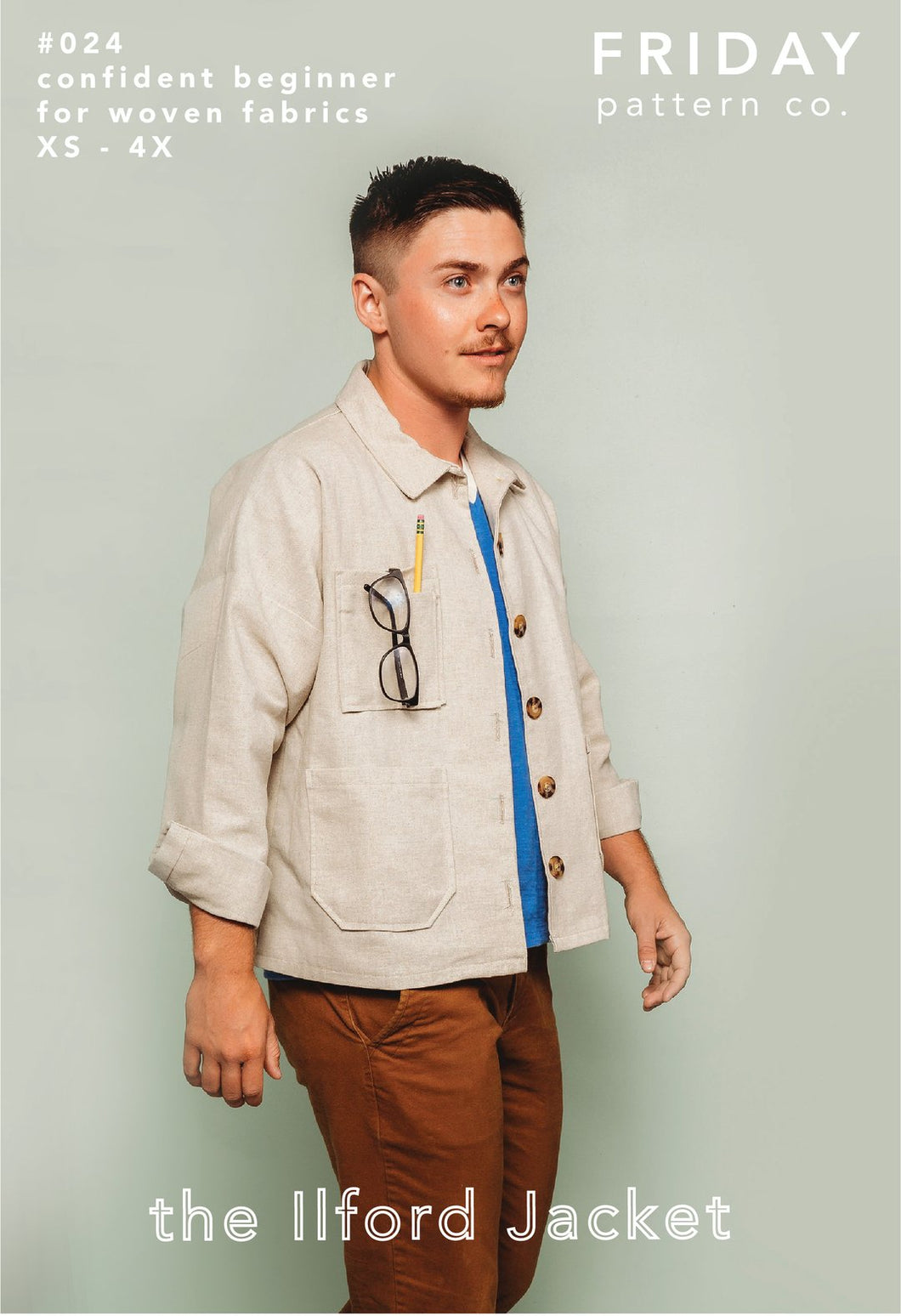 Ilford Jacket - Friday Pattern Company