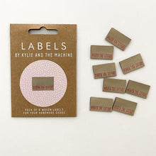 Worth The Effort - Pack of 8 Clothing Labels - Kylie and the Machine - Haberdashery & Tools - Kylie and the Machine - Sew Me Sunshine