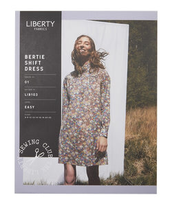 Bertie Shift Dress LIB103 - Liberty Fabrics - Patterns - Liberty Fabrics - Sew Me Sunshine