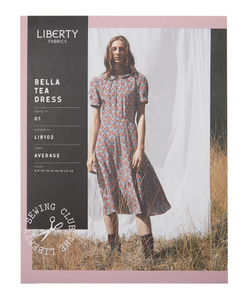 Bella Tea Dress LIB102 - Liberty Fabrics - Patterns - Liberty Fabrics - Sew Me Sunshine