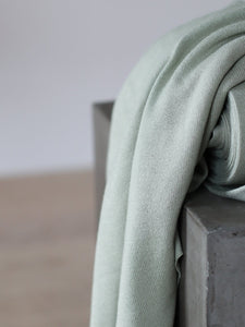 Soft Mint - Soft Lima Knit with LENZING™ ECOVERO™ Viscose fibres - meetMILK - Fabric - meetMILK - Sew Me Sunshine