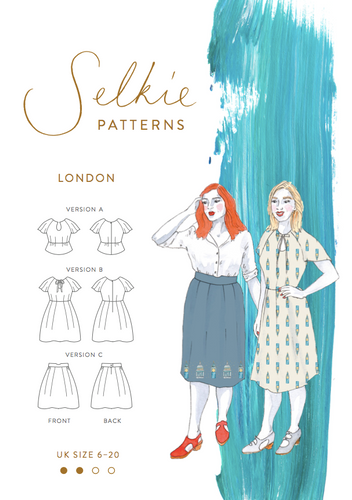 London Dress & Skirt  - Selkie Patterns - Patterns - Selkie Patterns - Sew Me Sunshine