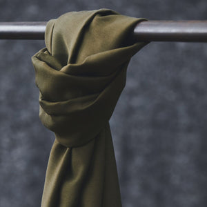 Khaki - Smooth Drape Twill with TENCEL™ fibres - meetMILK